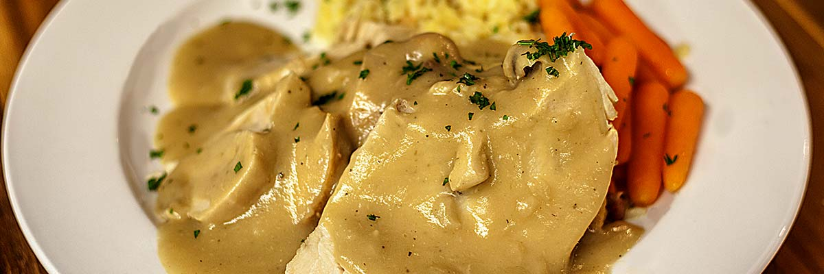 Turkey with Gravy